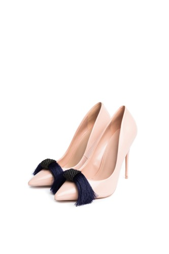 Silky in Blue - Shoe Clips